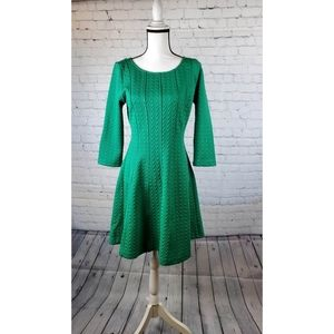 The Limited Knit Kelly Green Dress Size Small